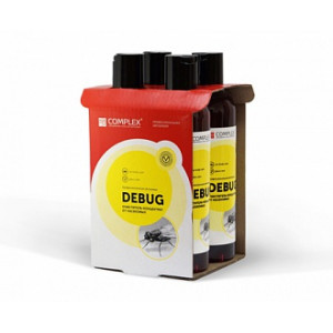 DeBug, концентрат Очиститель-концентрат от насекомых, упаковка 4шт.
