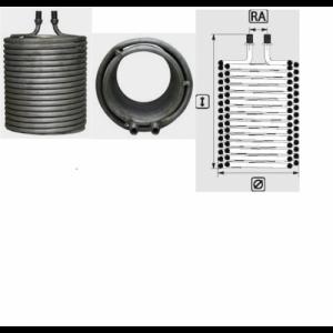 Змеевик (спираль) для аппарата высокого давления Karcher HDS 610; 580; 650; 690; 750; 760; 800B; 800BE; 890; 990; 1000BE; 1000DE; 1200DE; SB-HDW-S; Farmer Super