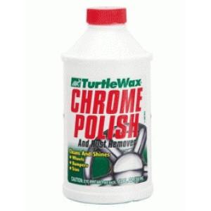 Полироль-очиститель для хромированных деталей CHROME POLISH 355 мл.