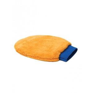 Оранжевая рукавица из микрофибры MICROFASER-REINIGUNGSHANDSCHUH
