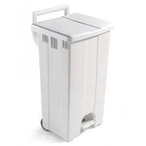 Бак мусорный с крышкой и педалью, 90 литров